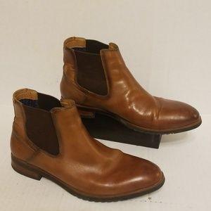 Steve Madden Leston leather boots men's size 7